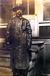 Richard Harrison Fanning, Cordova, Alaska about 1918